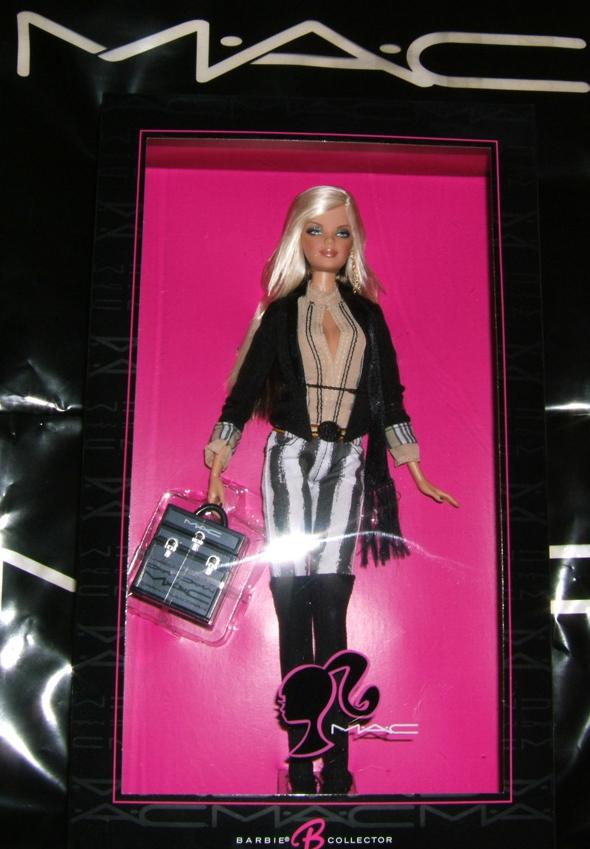 Mac Cosmetics Barbie Loves Mac Barbie Doll Amp Swatches