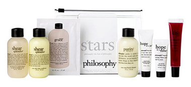 PHILOSOPHY TRAVEL SET