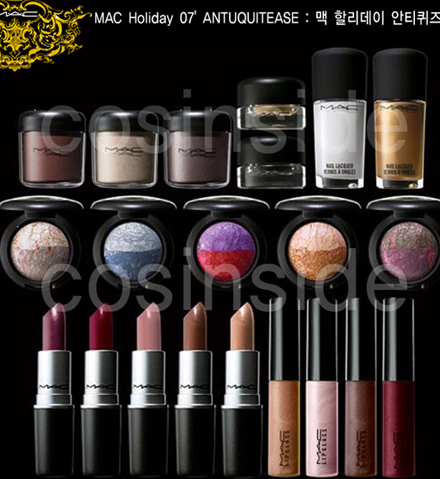 MAC COSMETICS HOLIDAY 2007