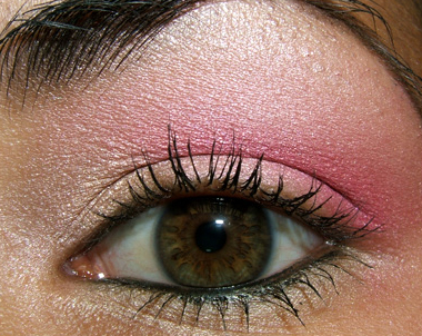 Mac Cosmetics Pink Look With Rose Blanc Provence