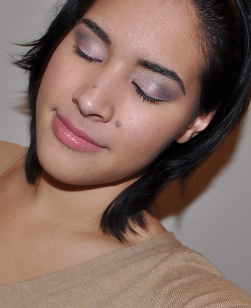 pink smokey eye makeup. Look – Easy Pink amp; Black Smoky