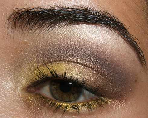 Look – Quick & Dirty Style Warrior Yellow & Brown Look