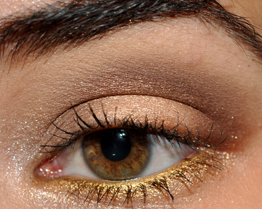 neutral eyeshadow for brown eyes. Neutral Makeup: Go Away Rainy