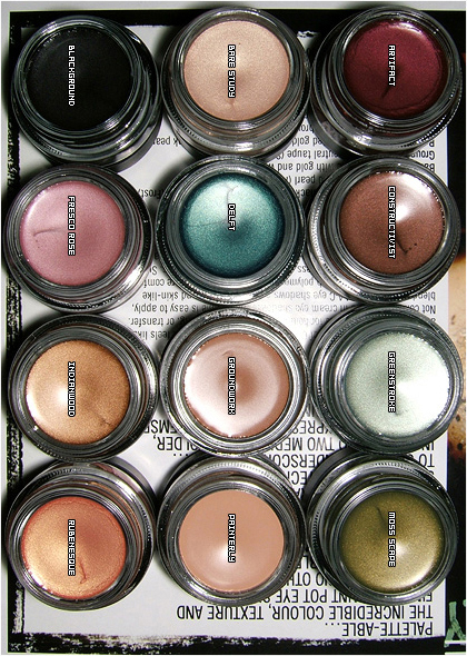 Mac Single Eyeshadow Collection: MAC Cosmetics Collection As Of September 2007