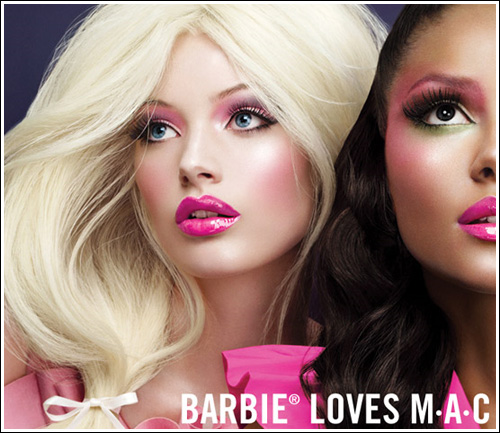 mac cosmetics barbie loves mac collection information amp photos