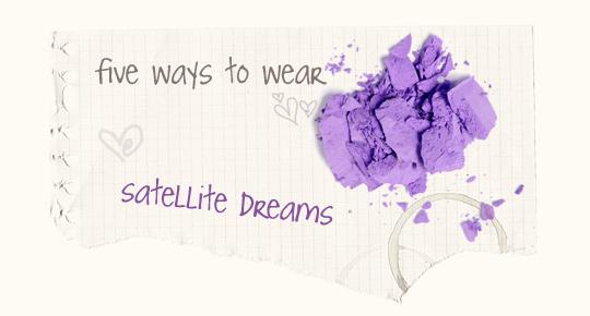 5 Ways to Wear: Purple Eyeshadow - MAC Satellite Dreams