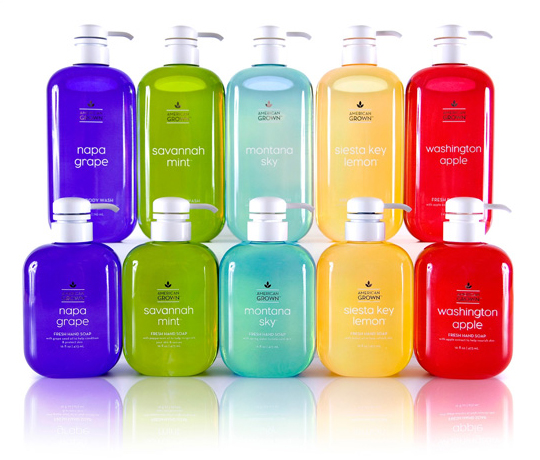 American Grown Hand Soaps Shower Gels Bath Body Works