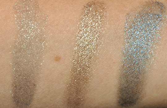 Bobbi Brown Metallic Long Wear Cream Eyeshadow Swatches
