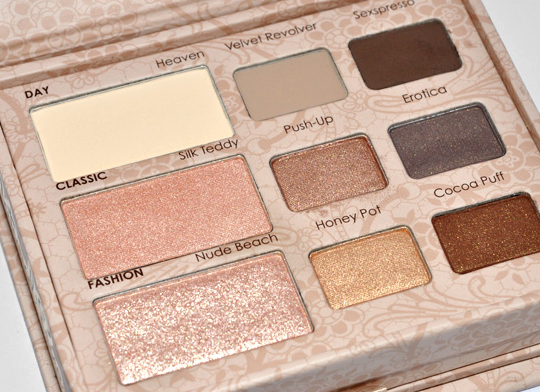 Two Faced Natural Love Eye Palette