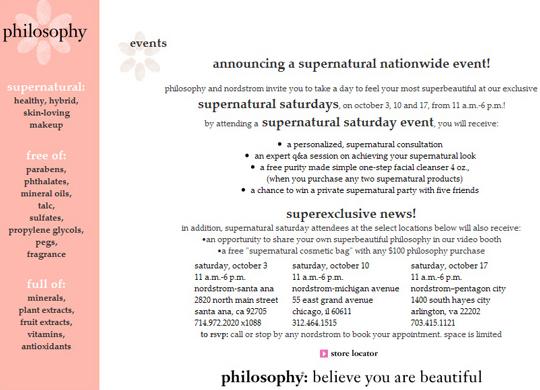 Celebrating Philosophy Supernatural