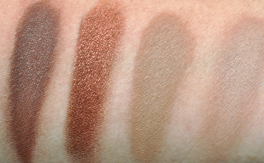 MAC Eyeshadow Swatches - Browns
