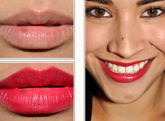 chanel rouge allure lipstick in excessive emotive review photos swatches. Black Bedroom Furniture Sets. Home Design Ideas