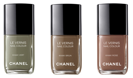 Chanel Khaki Collection