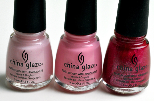 China Glaze Fight Like a Woman Collection