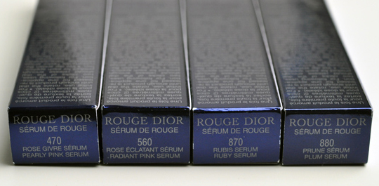 Dior Serum de Rouge Fall 2010