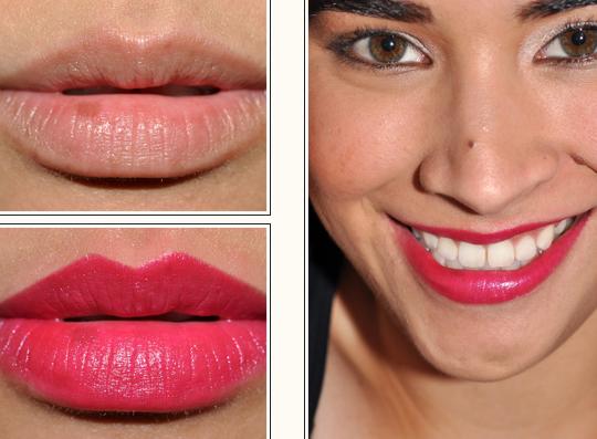 Lancome Fuchsia Clutch Lipstick