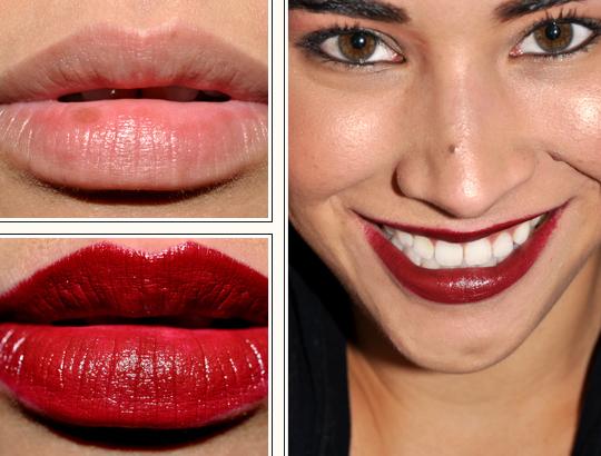 MAC Dark Side Lipstick Review, Photos, Swatches