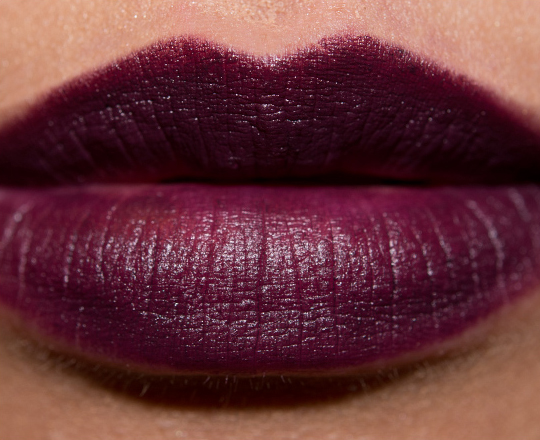 MAC Smoked Purple Lipstick Review, Photos, Swatches