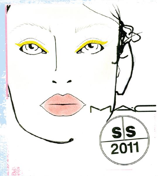 MAC @ Peter Som S/S 2011