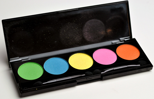 NYX I Dream of St. Lucia Eyeshadow Palette