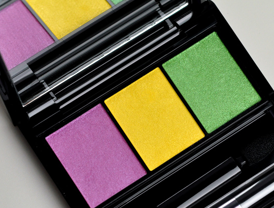Shiseido YE406 Tropicalia Eyeshadow Trio