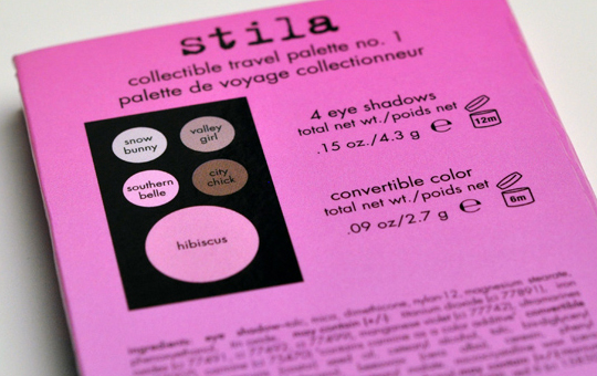 Stila Road to Radiance Palette