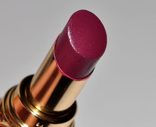 YSL Forbidden Burgundy Rouge Volupte Lipstick