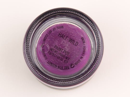 MAC Half-Wild Paint Pot