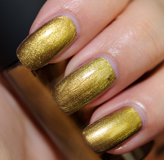 MAC Immortal Gold Nail Lacquer