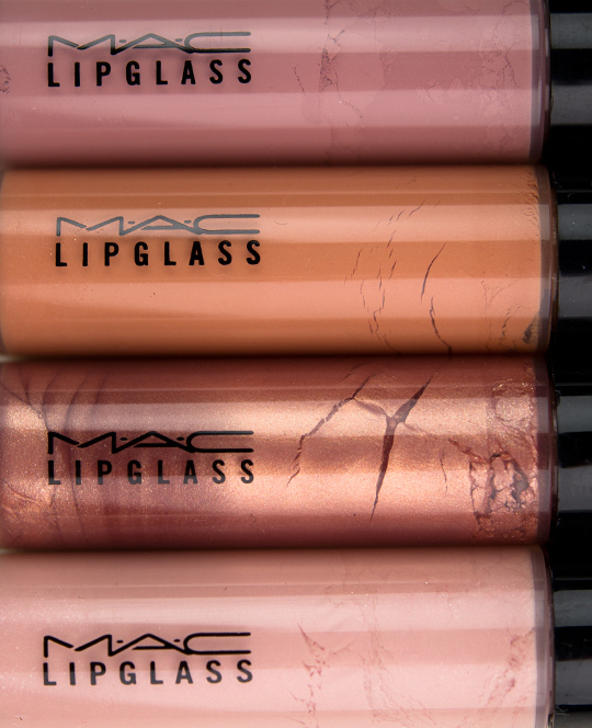 MAC Me Over Lipglasses