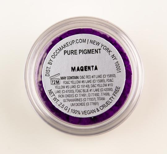 OCC Magenta Pure Cosmetic Pigment