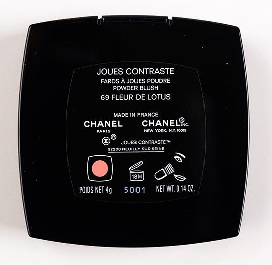 Chanel Fleur de Lotus Joues Contraste / Blush