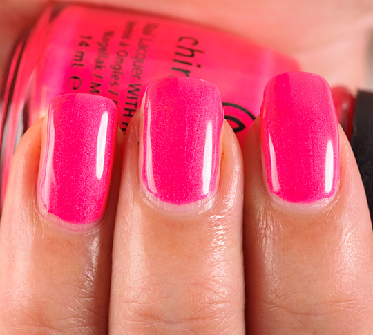 China Glaze Love's a Beach Nail Lacquer