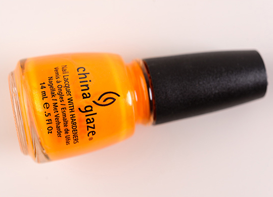 China Glaze Orange You Hot? Nail Lacquer