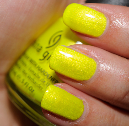 China Glaze Sun-Kissed Nail Lacquer