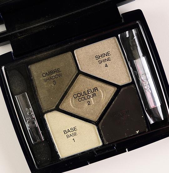 Dior Khaki Design Eyeshadow Palette
