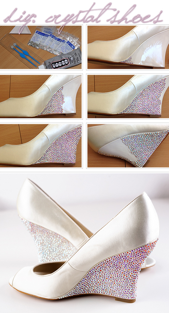 543d91fc007 How-to Apply Swarovski Crystal   Rhinestone onto Shoes (Heels