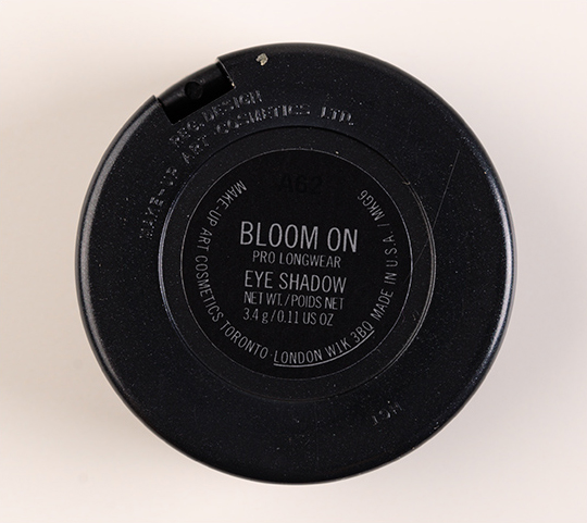 MAC Bloom On Pro Longwear Eyeshadow