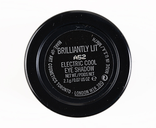 MAC Brilliantly Lit Electric Cool Eyeshadow