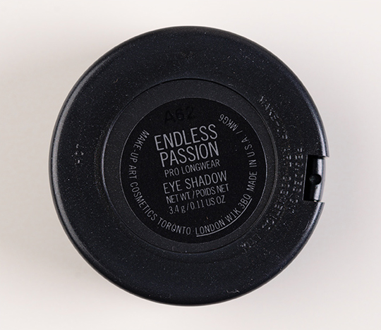 MAC Endless Passion Pro Longwear Eyeshadow