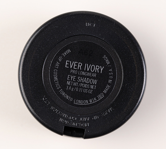MAC Ever Ivory Pro Longwear Eyeshadow