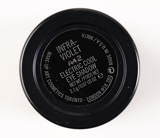 MAC Infra-violet Electric Cool Eyeshadow