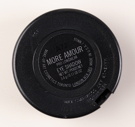 MAC More Amour Pro Longwear Eyeshadow