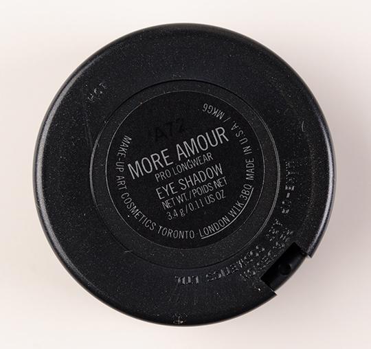 MAC More Amour Pro Longwear Eyeshadow