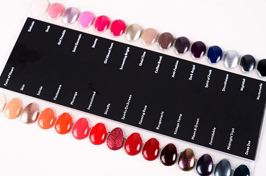 MAC Nail Lacquers - Preview Photos & Swatches