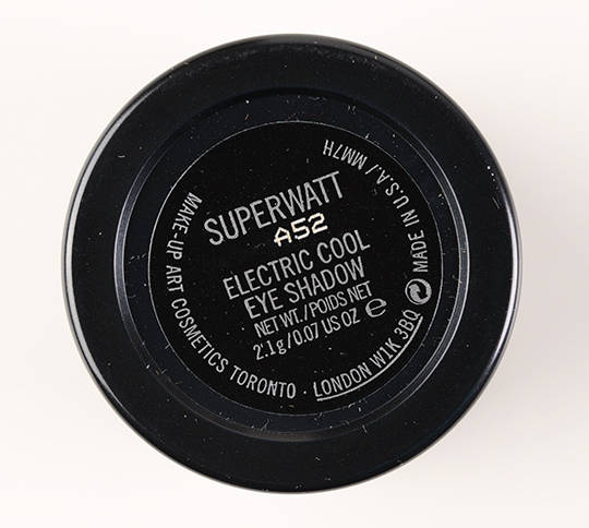 MAC Superwatt Electric Cool Eyeshadow