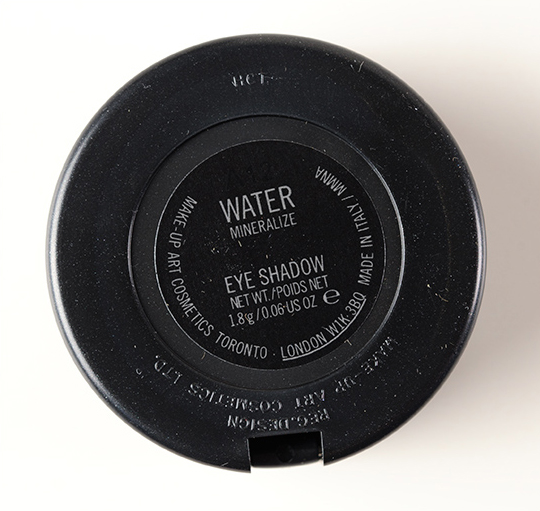 MAC Water Mineralize Eyeshadow