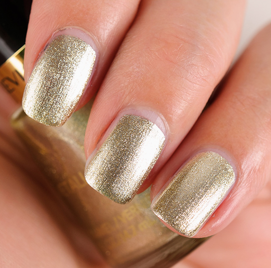 Revlon Gold Coin Nail Lacquer Review, Photos, Swatches