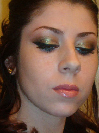 guest look stephanie shares a look with old gold pigment