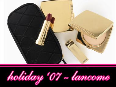 LANCOME 2007 GIFT SETS ANND PALETTES